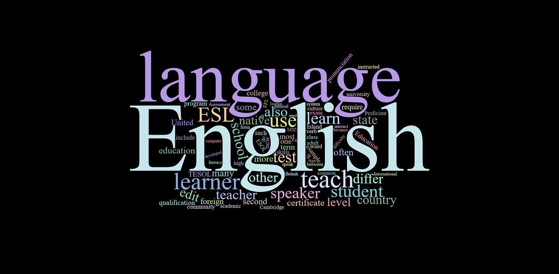 English Wordcloud